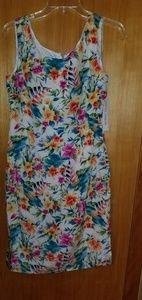Maggy London vintage dress floral